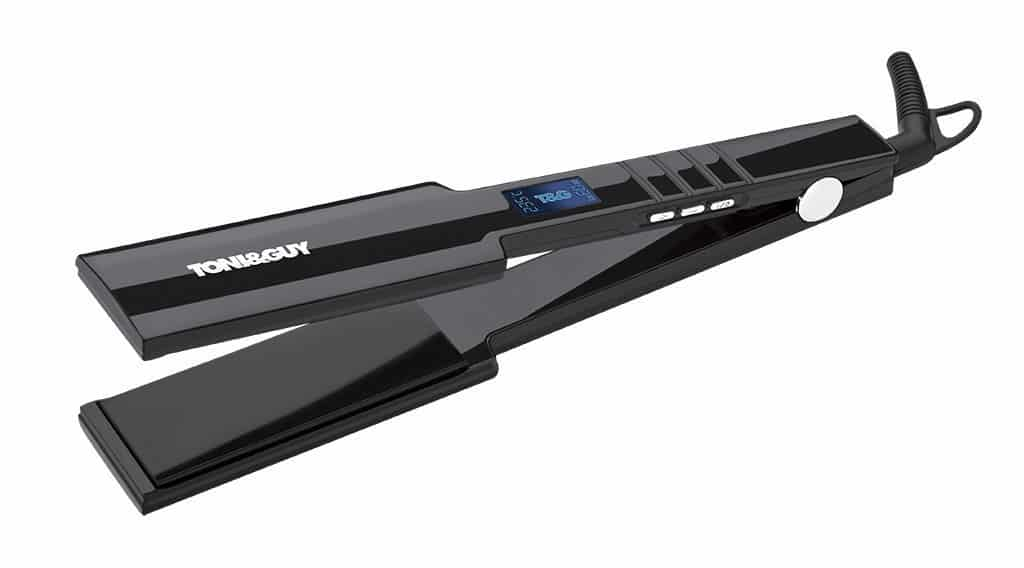 Toni & Guy TGST2998 X-Large Wide Plate Salon Professional Straightener Review side view