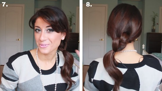 knotted ponytail 7&8