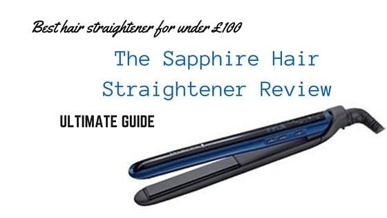 Sapphie hair straightener review featured image