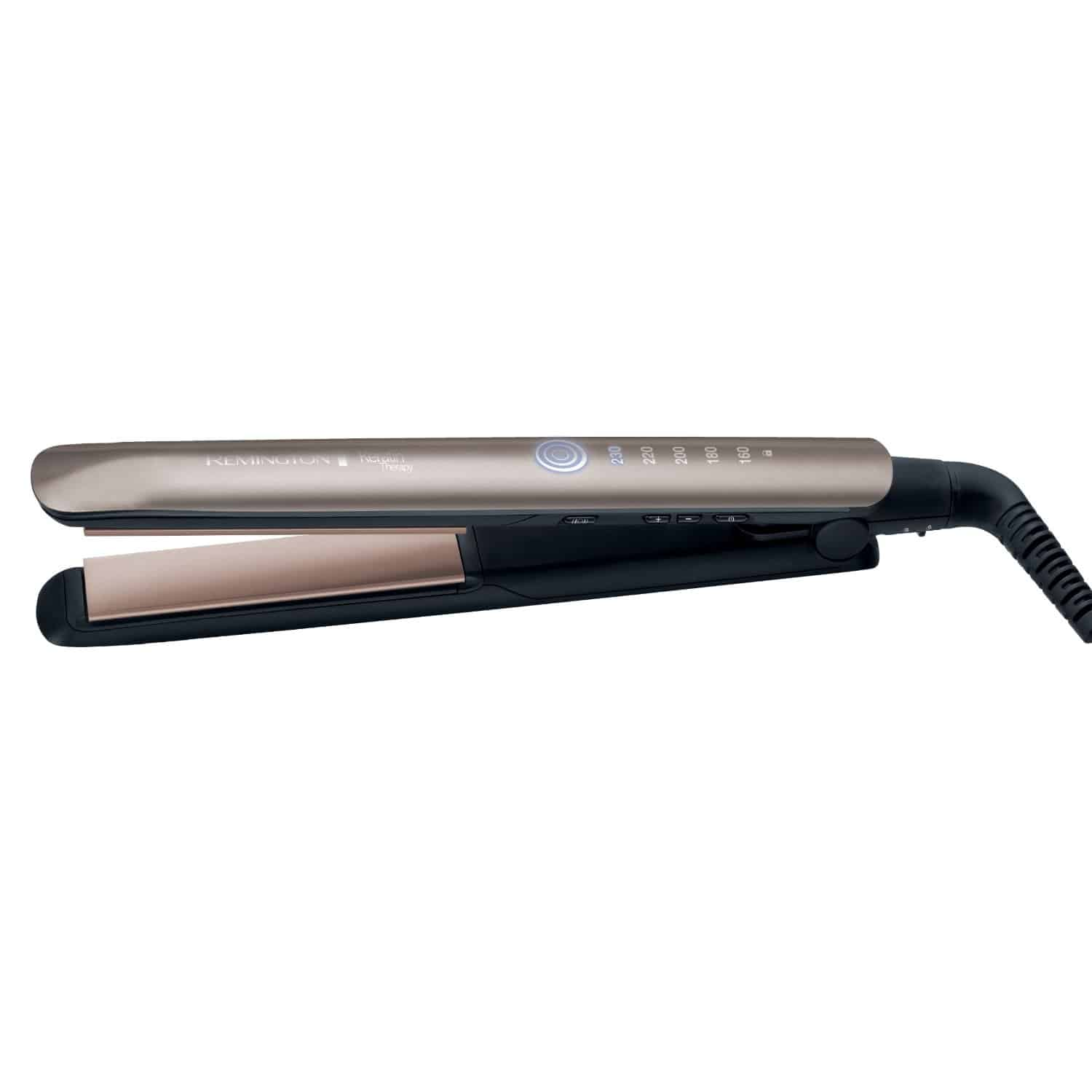 Best Hair straightener For Thick Hair remington keritin pic