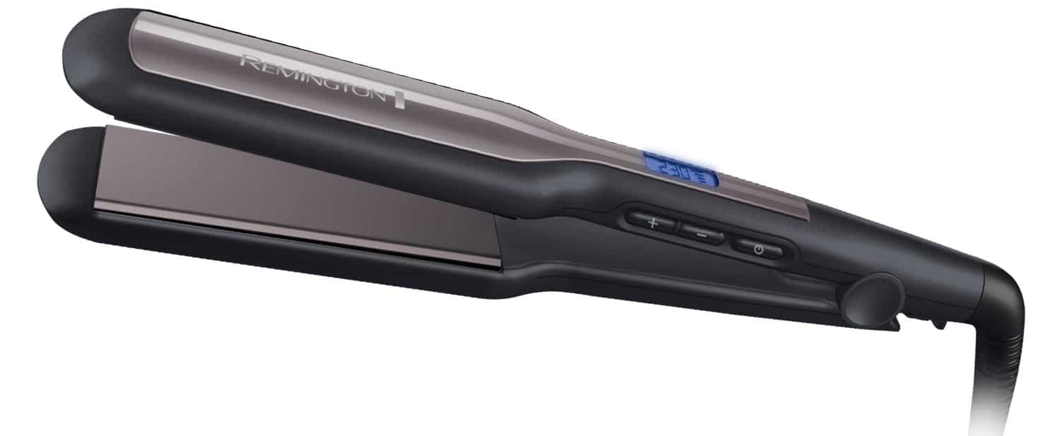 Best Hair Straighteners For Wavy Hair remington wide plate