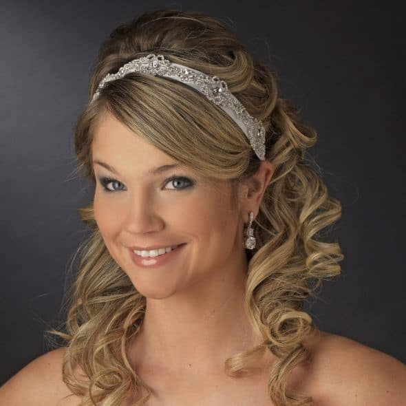 Styles you can learn with your straighteners wedding hair