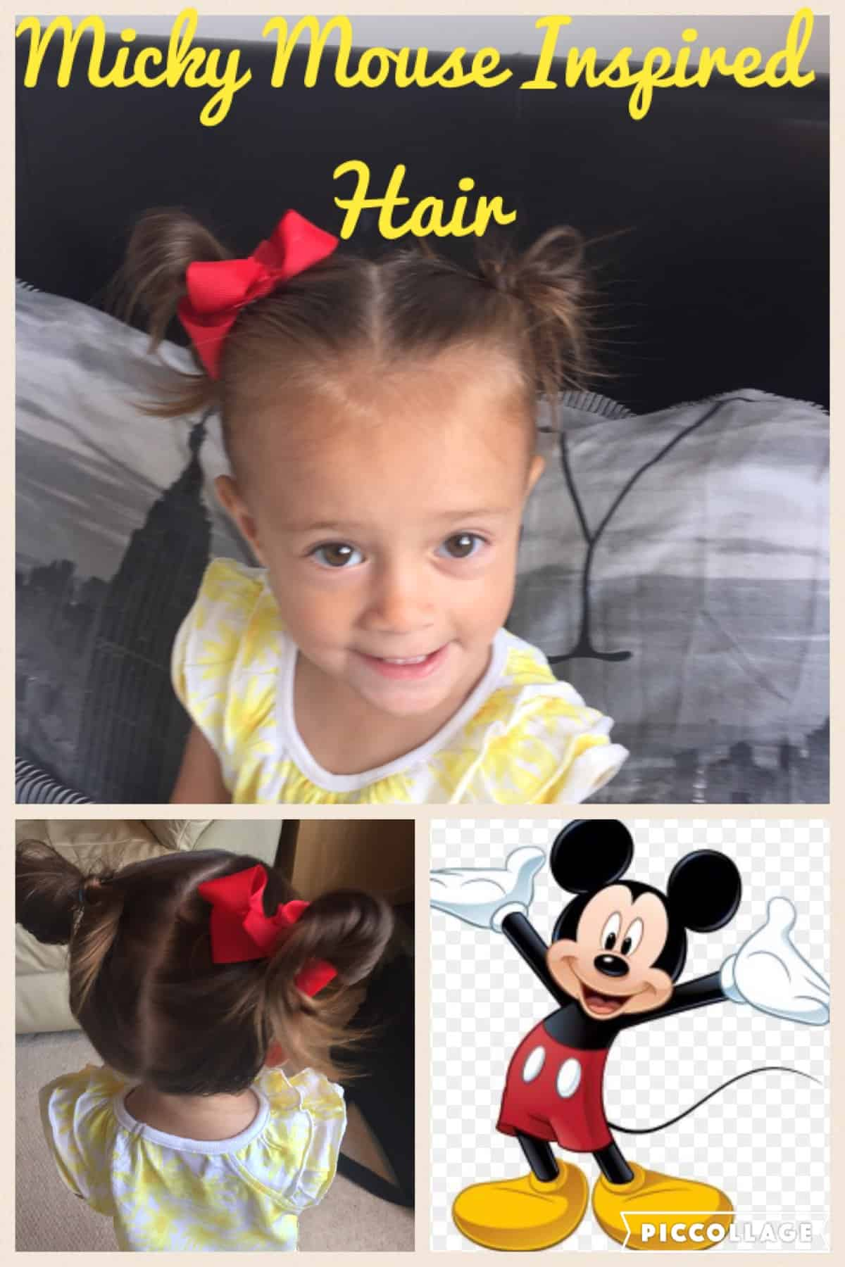 minnie mouse hairstyles