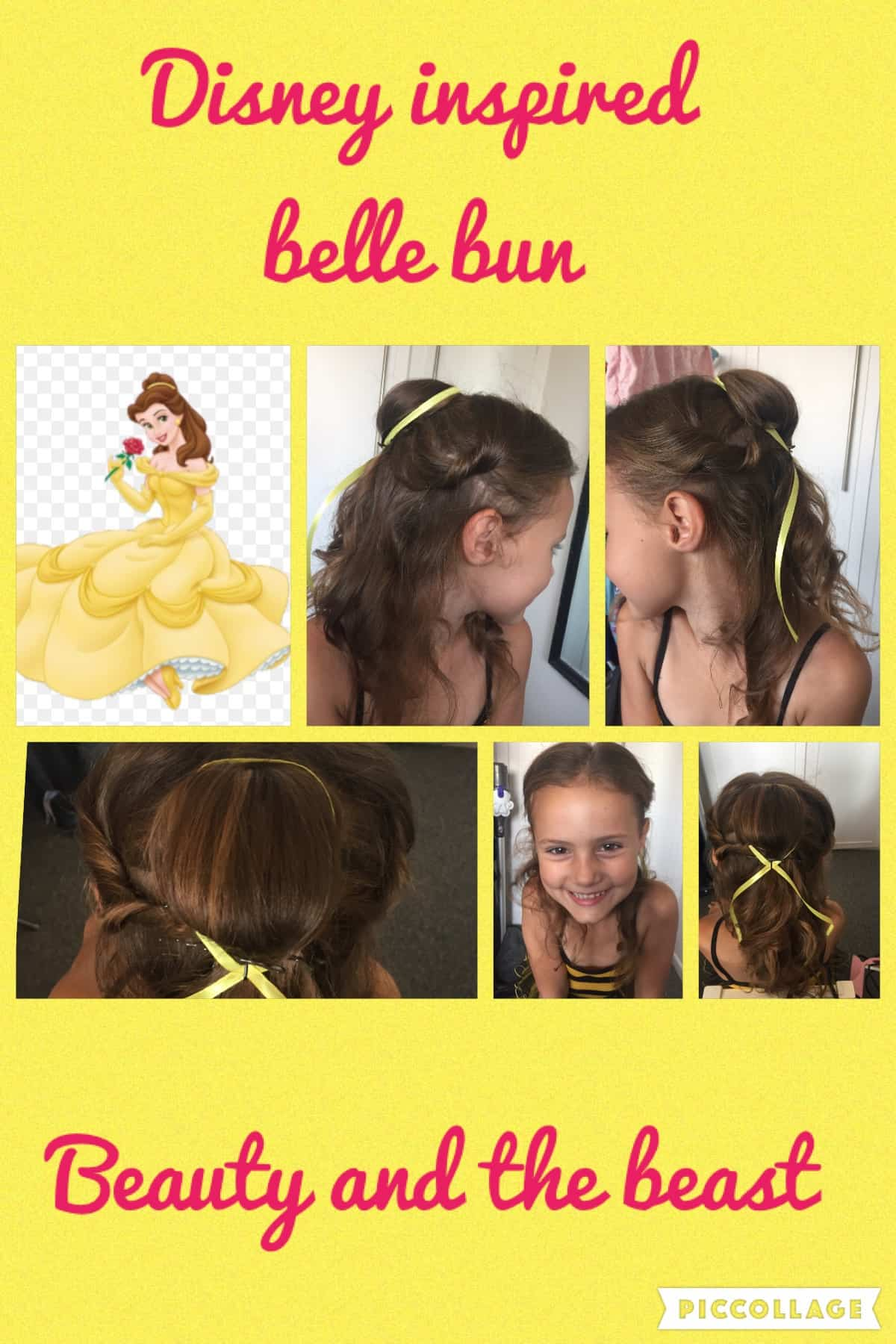 beauty and the beast hairstyle