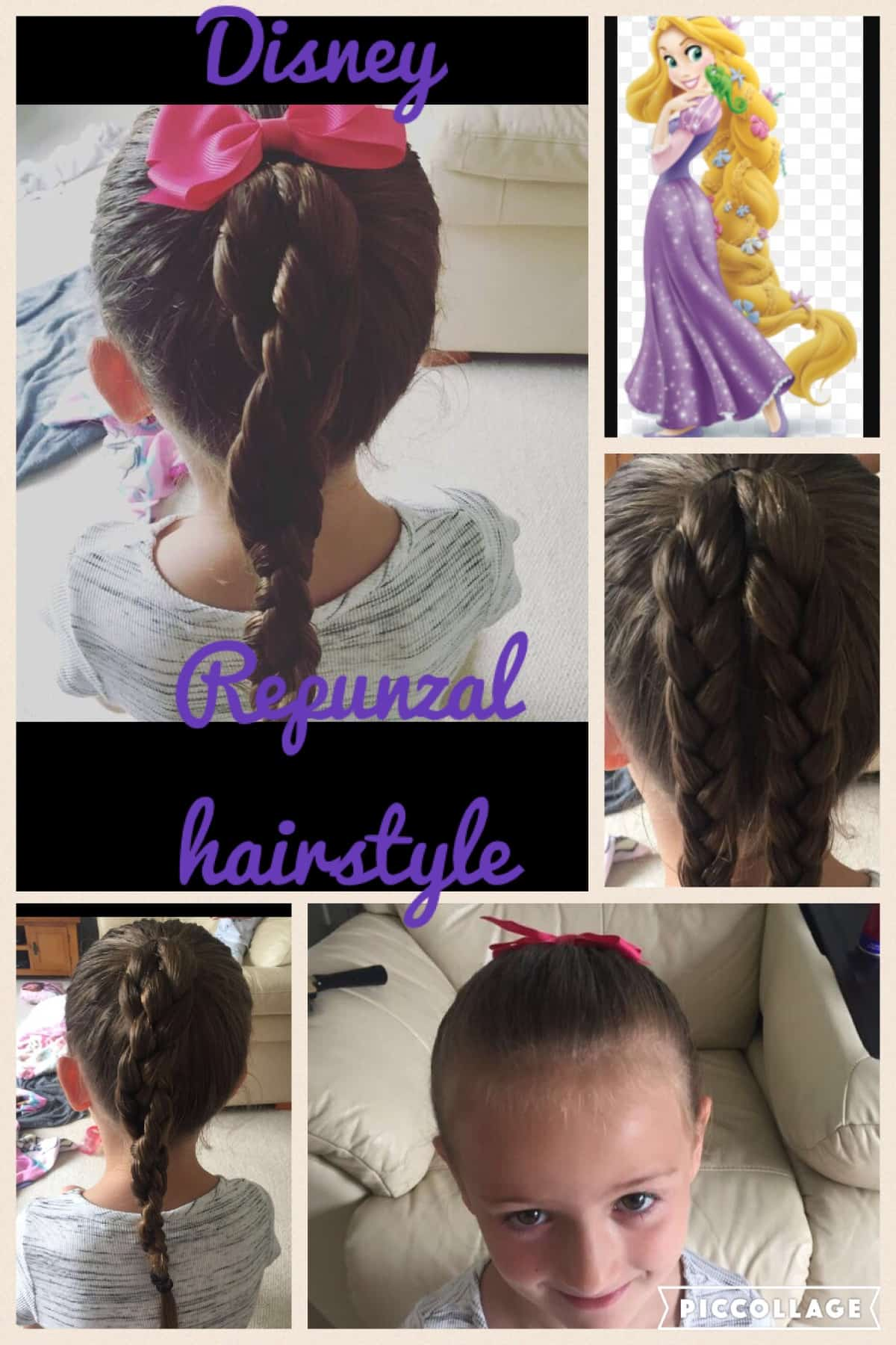 Repunzal hairstyle