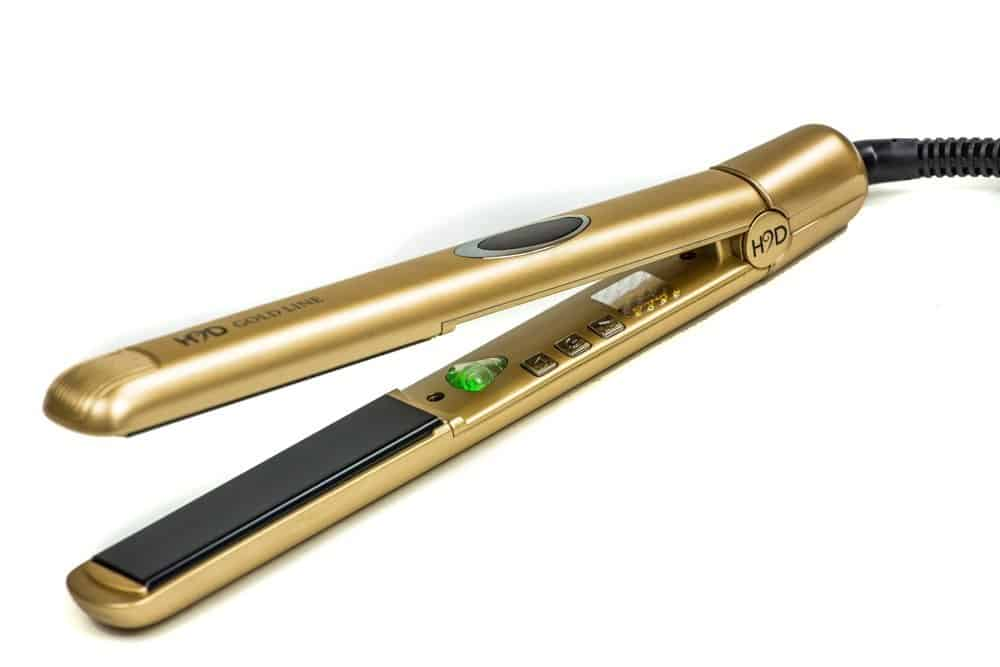 Best hair straighteners for damaged hair h2d gold line
