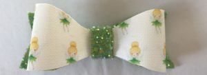 tinkerbell and green bow single
