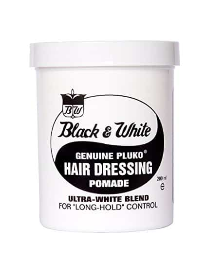 Black and White pomade